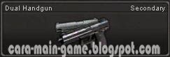 Senjata Point Blank Dual Handgun