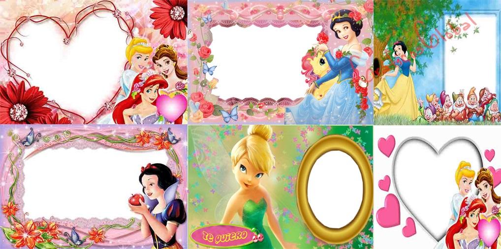 15 Marcos princesas plantillas psd