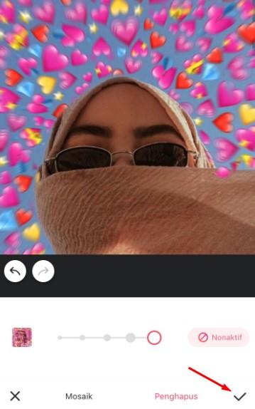 Cara Edit Foto Emoji Background Love Diatas Kepala ...