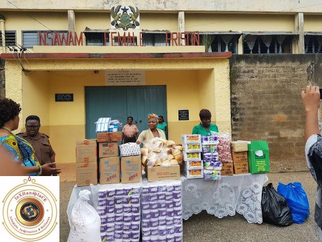 mildred menkiti at the Nsawam Female Prisons, Nsawam, Ghana 10