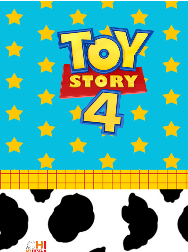 Toy Story 4 With Forky Free Printable Invitations And Candy