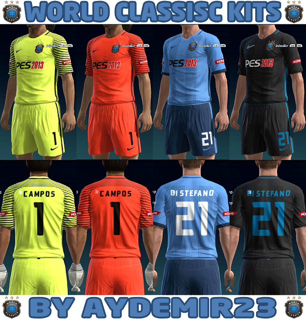 PES 2013 WORLD CLASSICS KITS BY AYDEMIR23