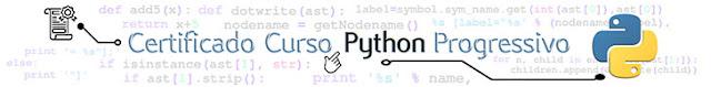 Curso de Python com Certificado