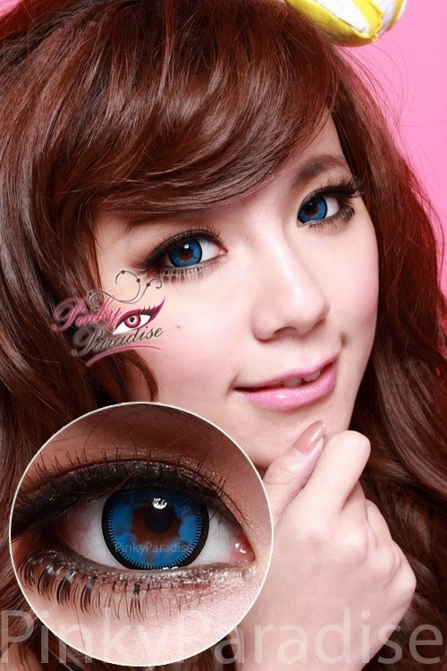 Vassen Cloud Nine Blue Circle Lenses (Colored Contacts)