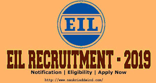 Eil Recruitment 2019 for engineers