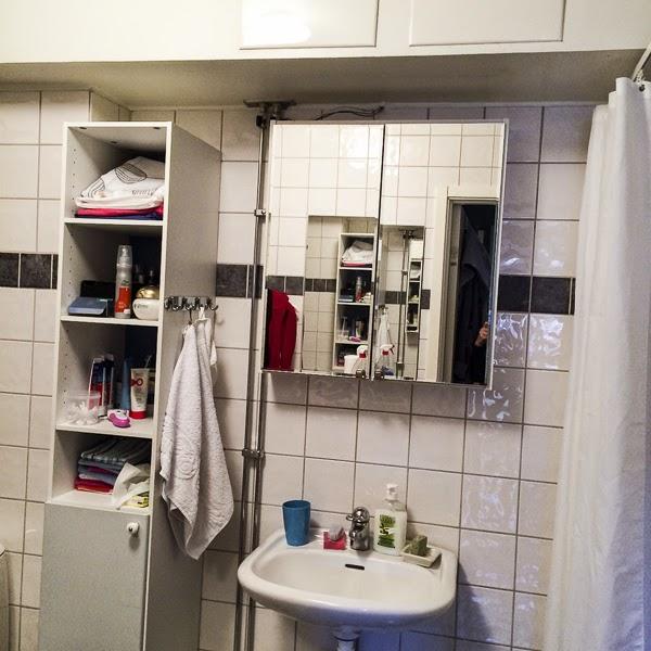 ninisworld Belysningöver badrumsskåp