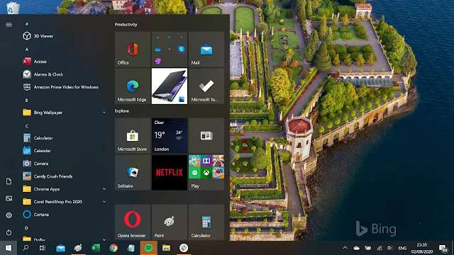 Hướng dẫn kích hoạt Start Menu mới trên Windows 10