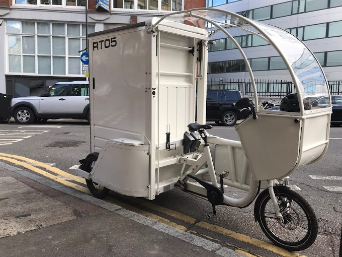 Amazon expands testing of electric cargo bikes to Europe