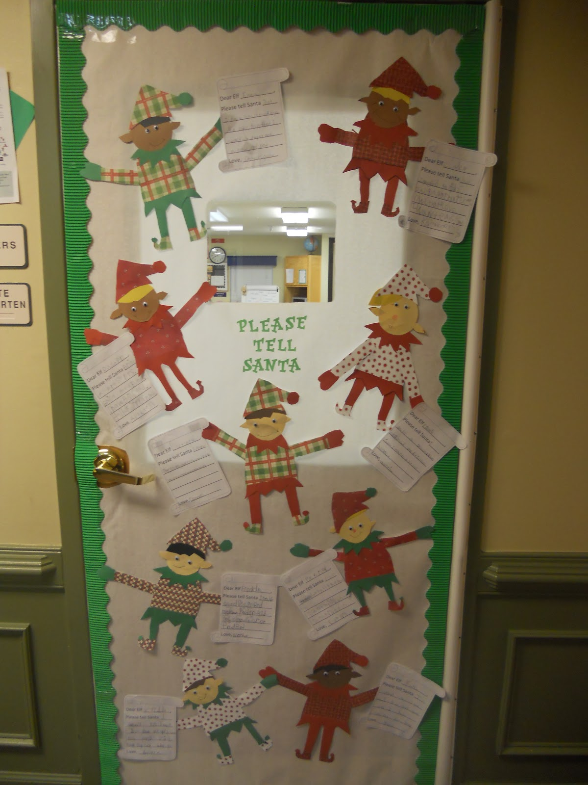 Door Decorating Contest - A Primary Owl