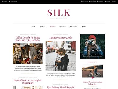 Silk Free Magazine Wordpress Theme