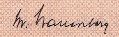 signature of Marcus Wallenberg Jr