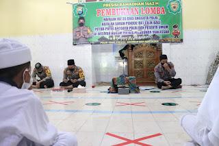 Kapolres Pelabuhan Makassar AKBP Kadarislam Buka Lomba Tahfidz Al Quran di Masjid Muhajirin