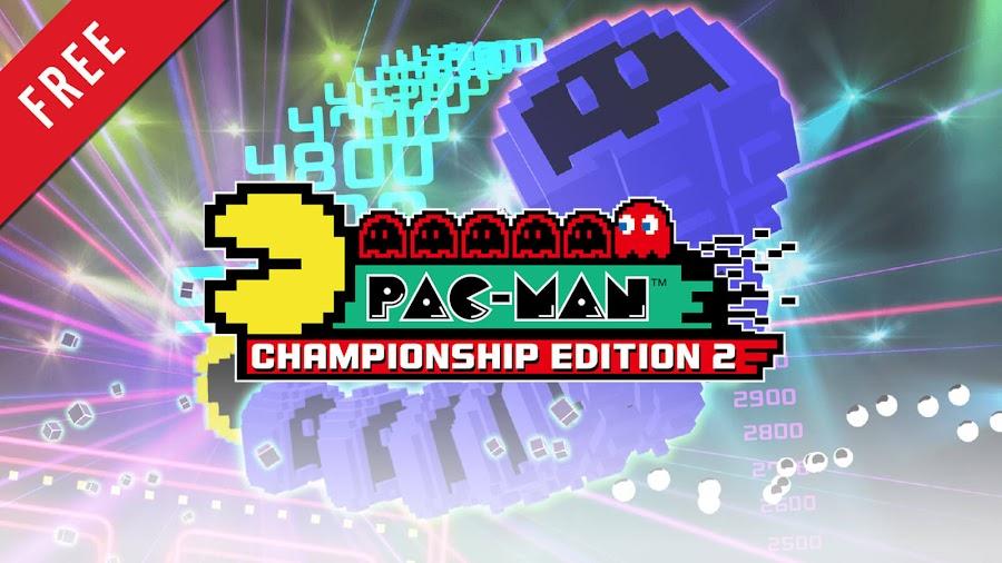 pac man championship edition 2 free pc steam ps4 xb1 arcade bandai namco entertainment