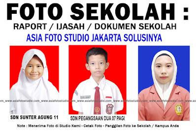 CETAK FOTO SISWA untuk SEKOLAH