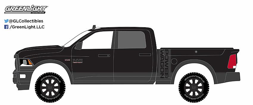 black bandit 2017 ram 2500 power wagon