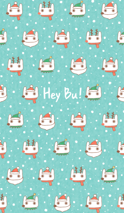 Hey Bu!-Christmas Pattern
