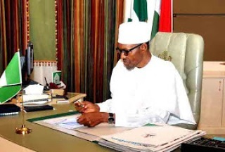 President Buhari resumes after 'resting' for a while
