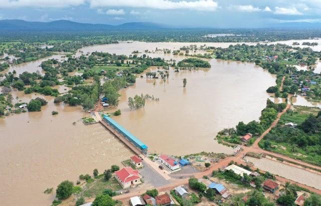 Sokan meghaltak az áradásokban Kambodzsában és Vietnámban