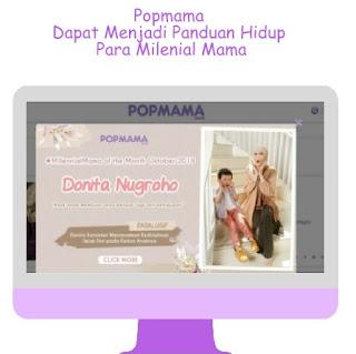 Popmama untuk Milenial Mama