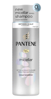 pantene micellar detox and scalp cleanser shampoo for oily hair