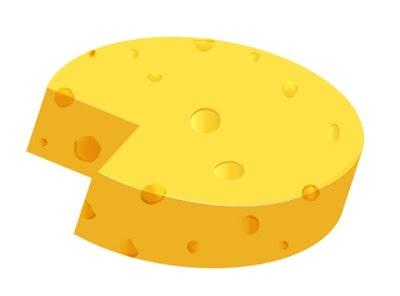 Vector Cheese in Adobe Illustrator