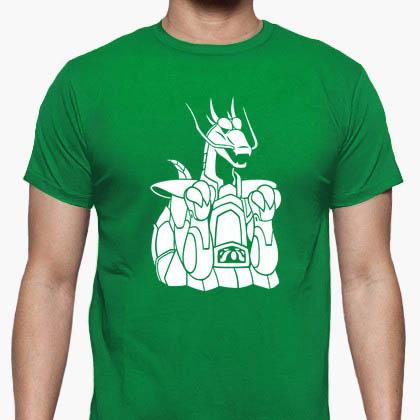 Camiseta Armadura del Dragón