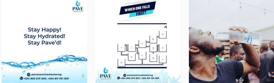 Pave Water