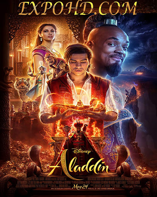 Aladdin 2019 BluRay 720p _ 480p | HDCAM V2 | Dual Audio [ हिंदी + English] Full Movie | 2.4Gb | 1Gb | 400Mb | Download Now Free