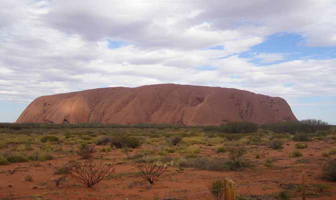Uluru-Kata Tjuta National Park Tourist Travel in Australia