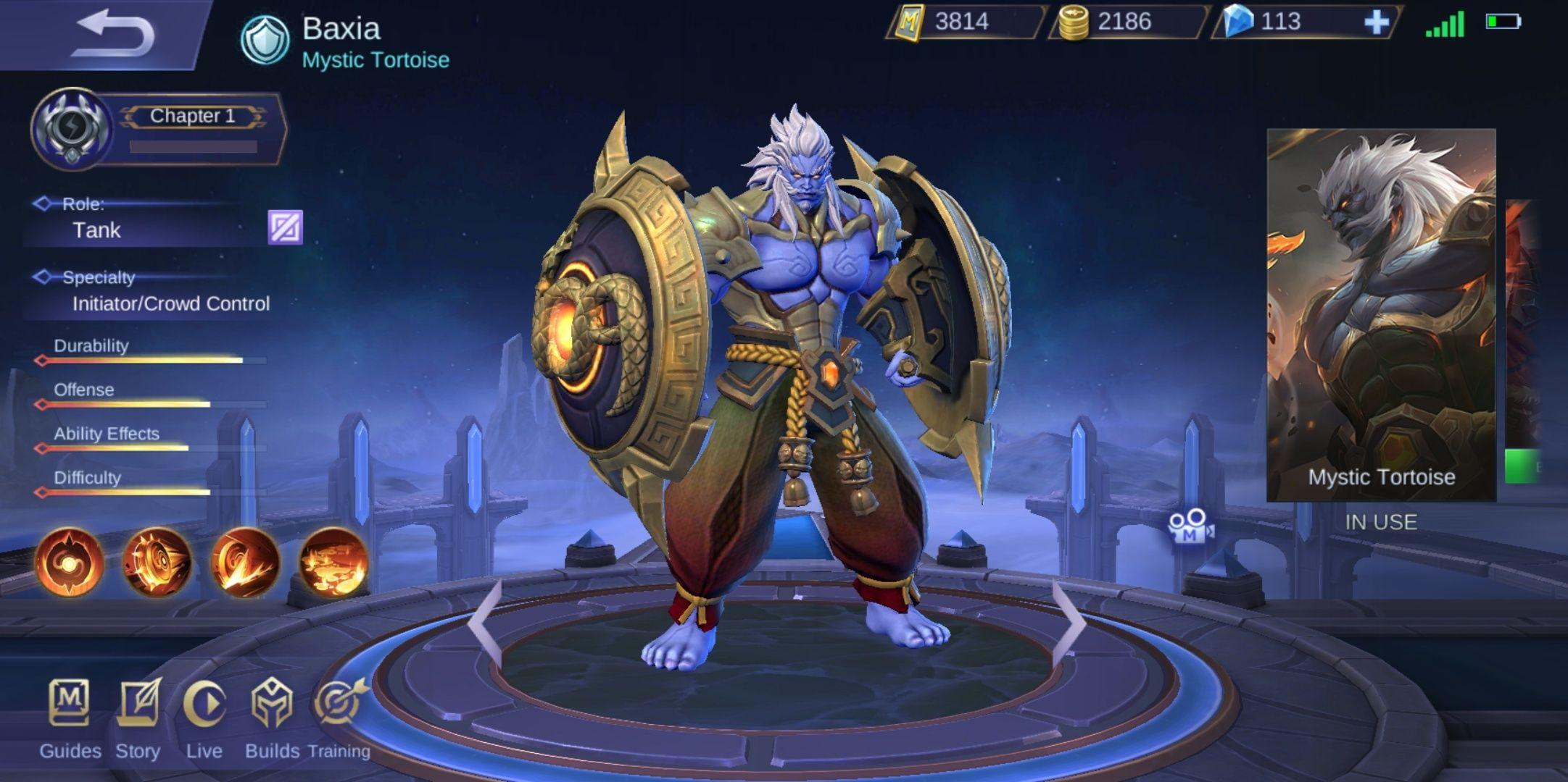 Baxia Mobile Legends
