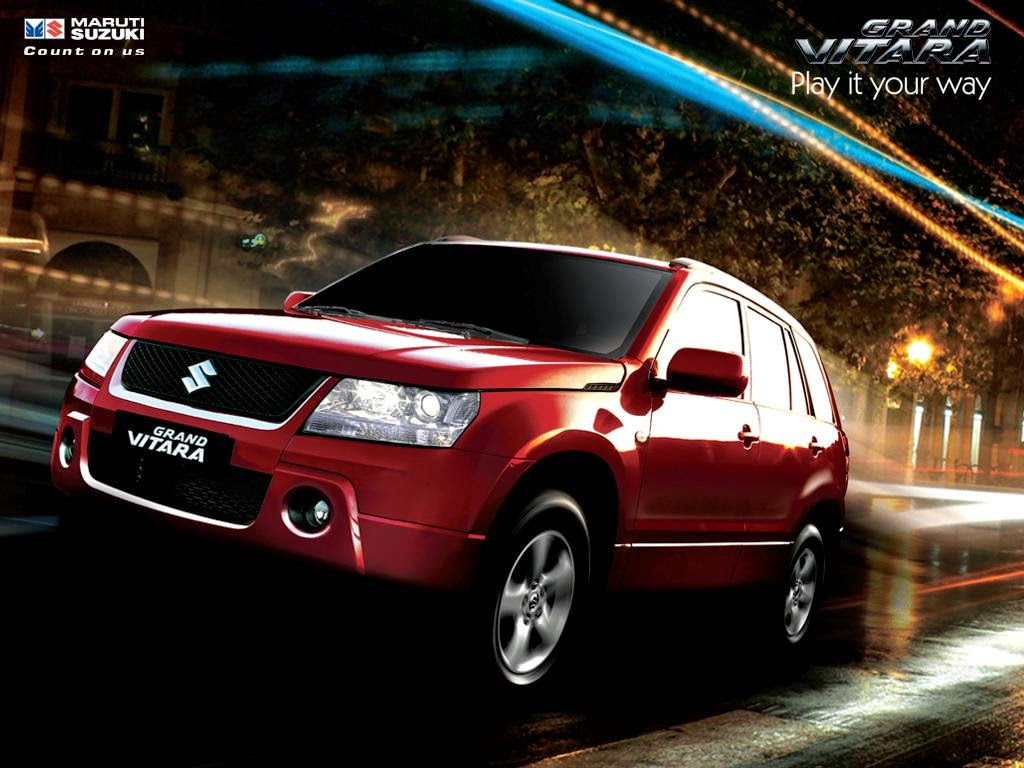 Mobil Suzuki Grand Vitara 2014 Wallpaper