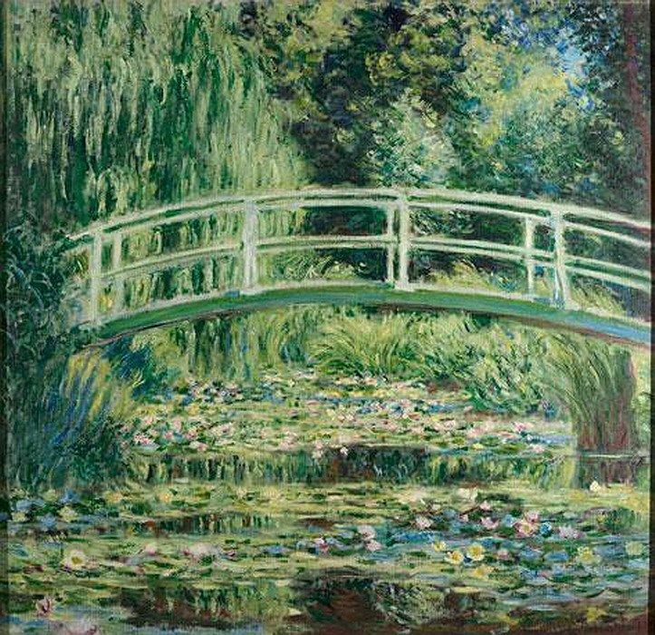 Cultural corner claude monet la luce dell 39 impressionismo - Giardino delle ninfee ...