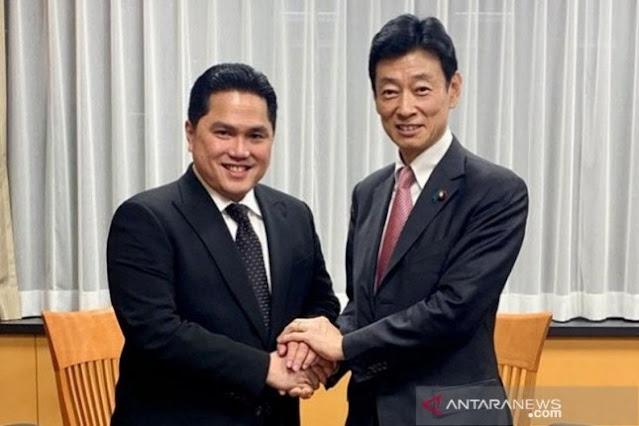 Oleh oleh Menteri BUMN dari Jepang, BTN Jajaki Kerjasama dengan Perusahaan Jepang