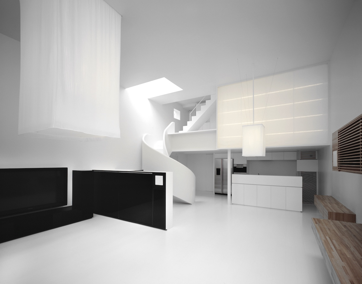 La casa N es obra del famoso arquitecto japonés Aoki Jun, minimalismo extremo