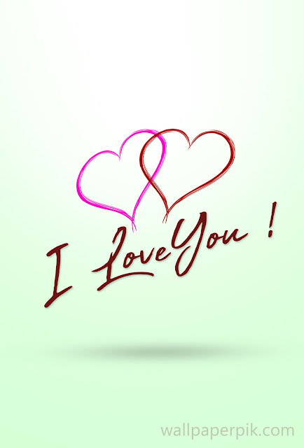 i loveyou wallpaper for iphone mobile phone