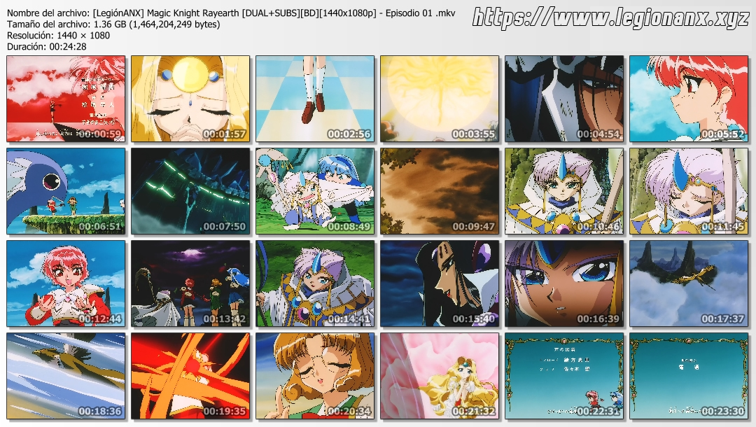 Magic Knight Rayearth [49/49] Ovas [3/3] [Latino][Jap/Subs][FLAC][BD][1080p]