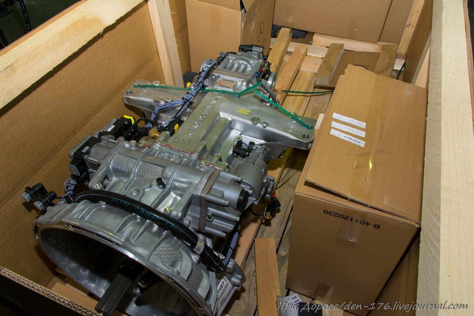 How to make MBTV 30 Mercedes Benz trucks in Naberezhnye Chelny