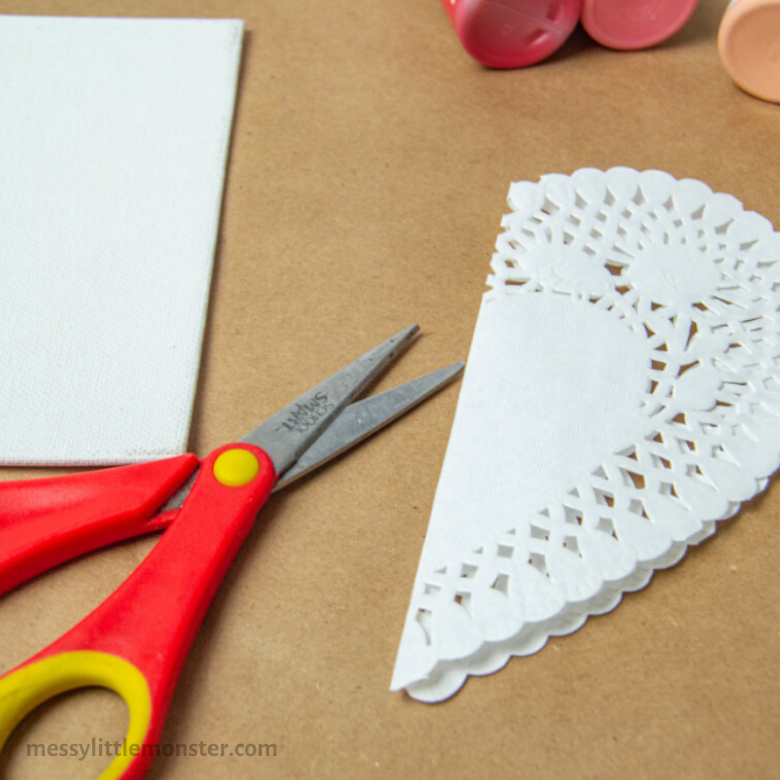 paper doily craft