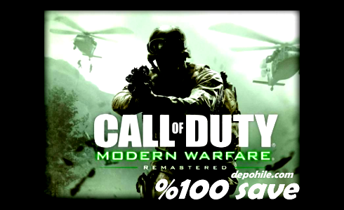 Call of Duty 4 Modern Warfare %100 Save İndir Bitirme Hilesi