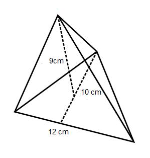 contoh soal volume limas segitiga