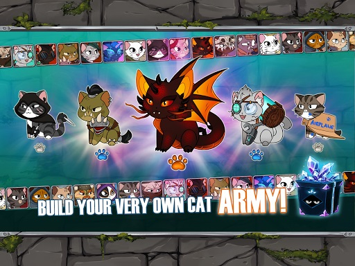 Download Game Castle Cats v2.10.3 (Mod Apk Money), Free Apk 2020