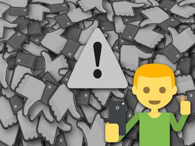 Cara Mengatasi Akun FB Yang Tidak Bisa Like dan Komentar di Facebook