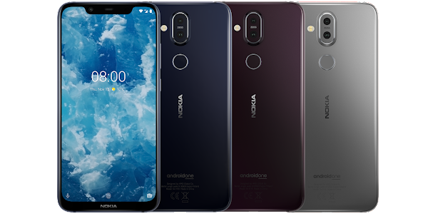 HMD Global officially unveils the Nokia 8.1