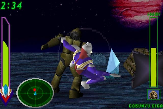 Ultraman Tiga & Dyna Fighting Evolution