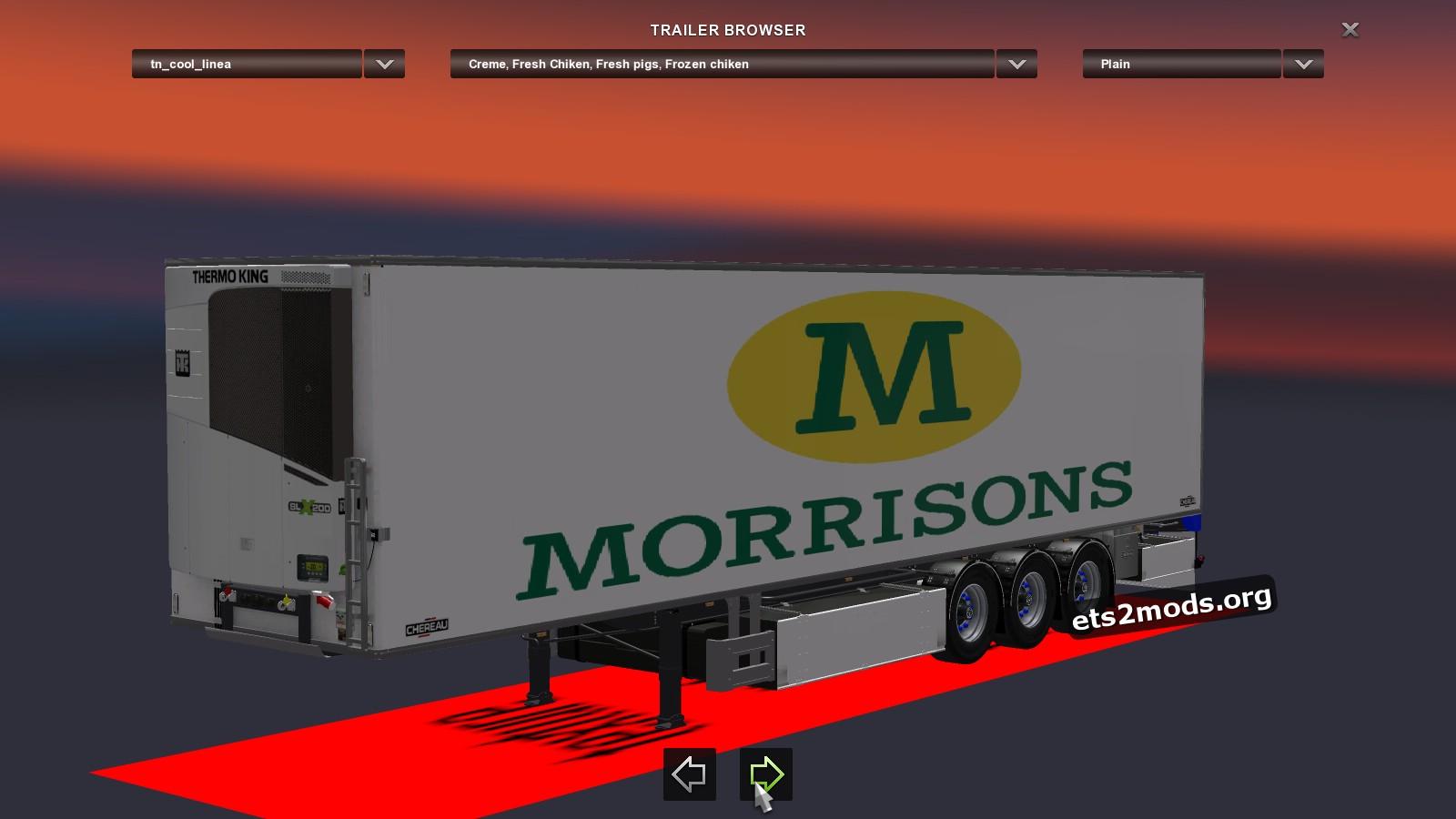 Trailer Morrisons