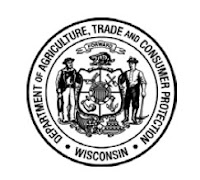 Logo for the WI Department of Agriculture, Trade and Consumer Protection