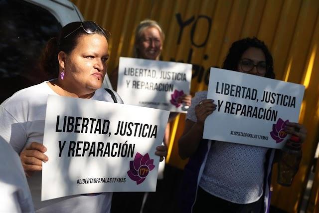 Exigen la liberación de 18 mujeres encarceladas en El Salvador por abortar