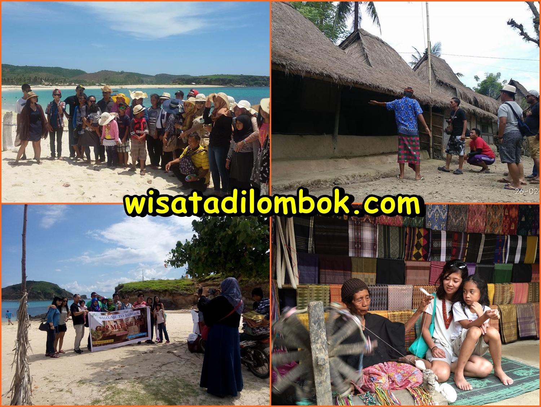 Gambar Tour Hari Pertama Paket Wisata Pantai Pink Lombok