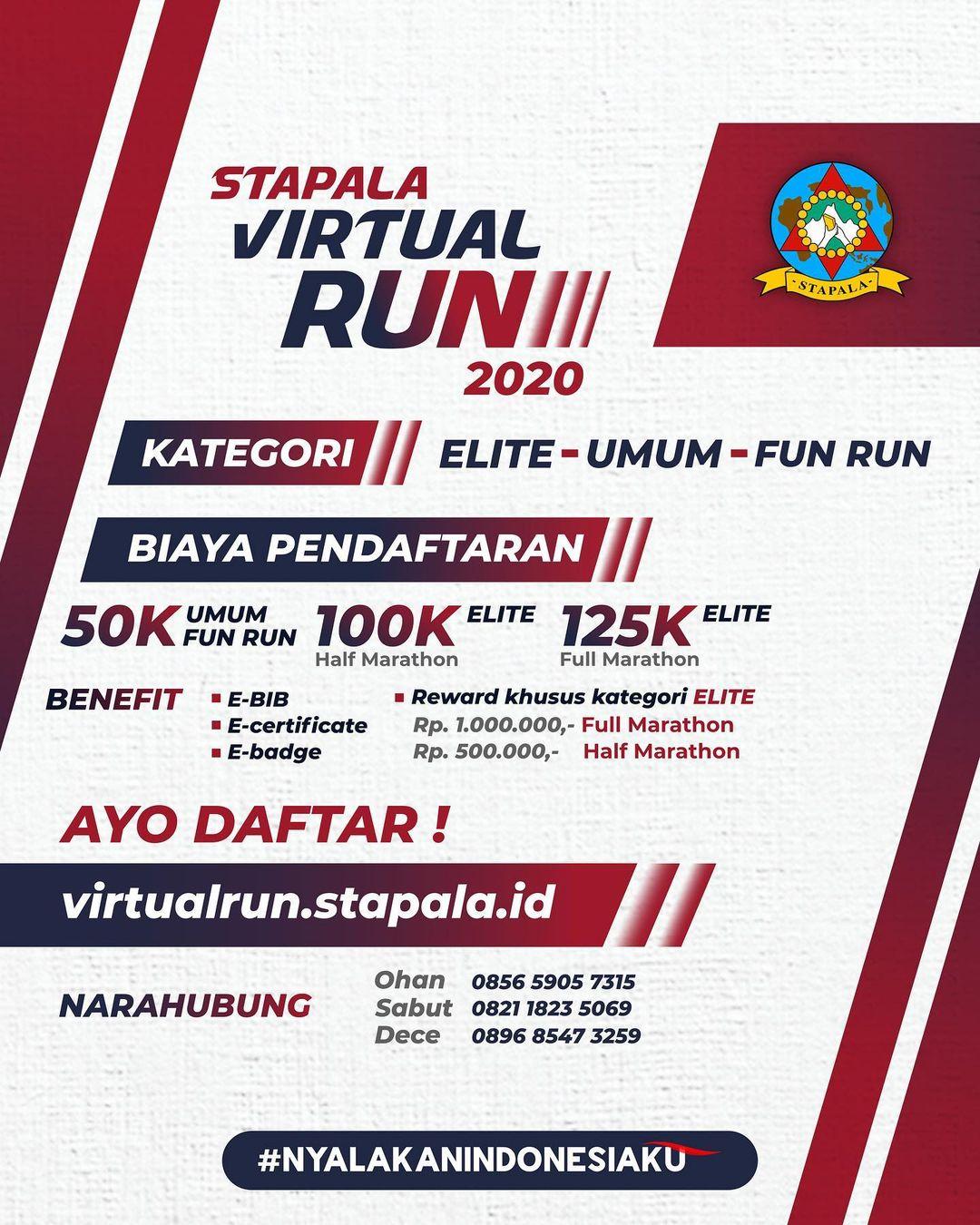 Stapala Virtual Run • 2020