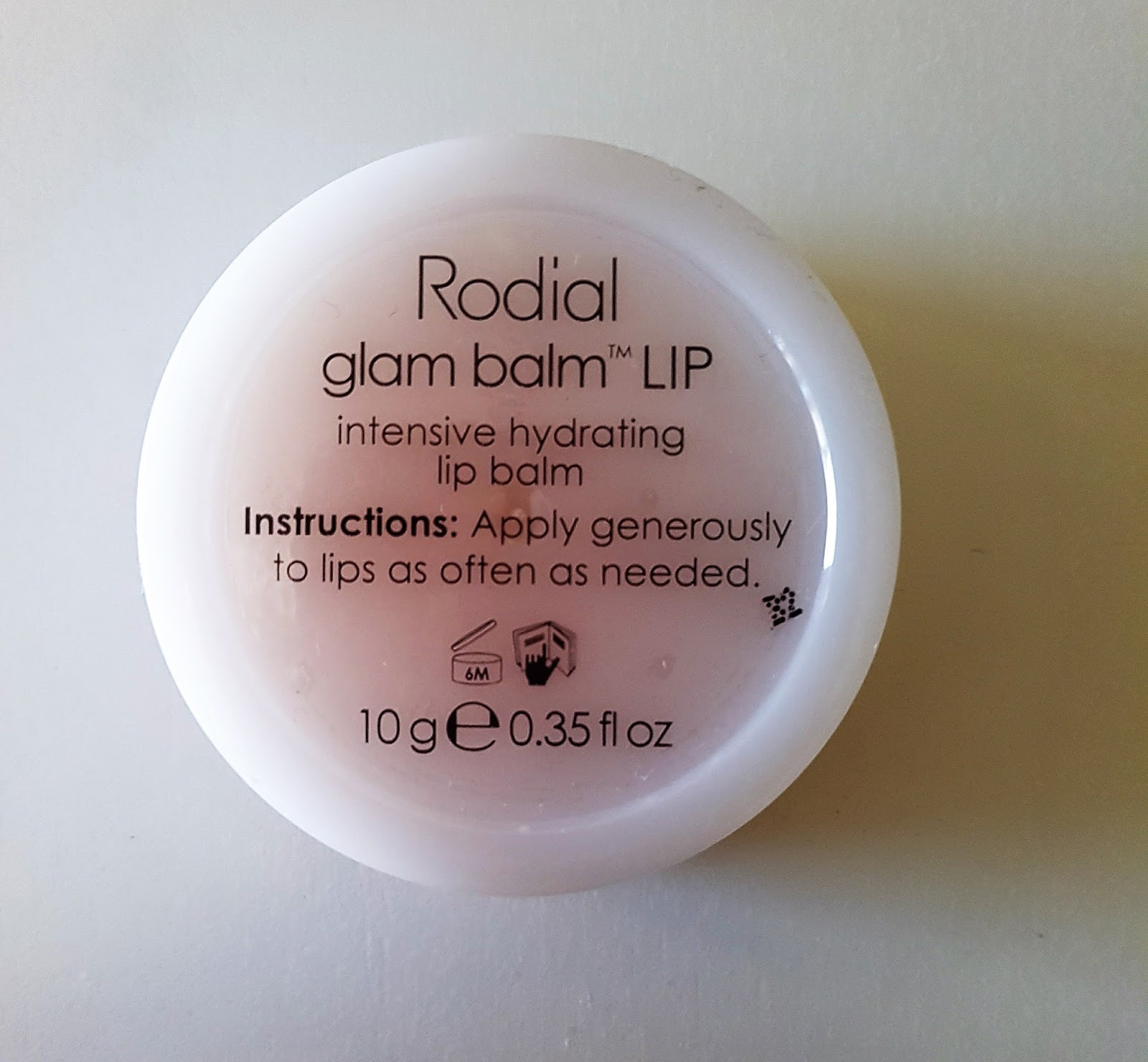 Beautifully Glossy February 2017 Klara Hylaronic Lip Mask Rodial Says Glam Balm Is An Intensive Designed To Hydrate Smooth And Protect The Lips Shea Butter Vitamin E Soothe Soften